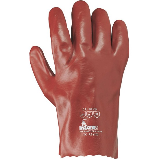 PVC COATED GLOVE 27 CM 385012