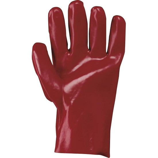 PVC COATED GLOVE 35 CM 385014