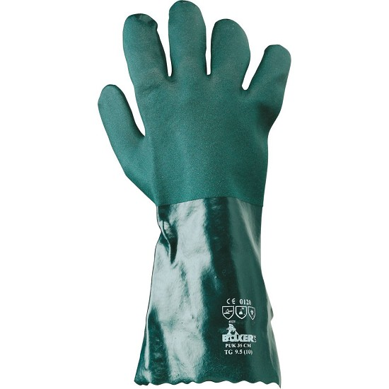 PVC coated glove puk 35 CM TG.9,5 385038