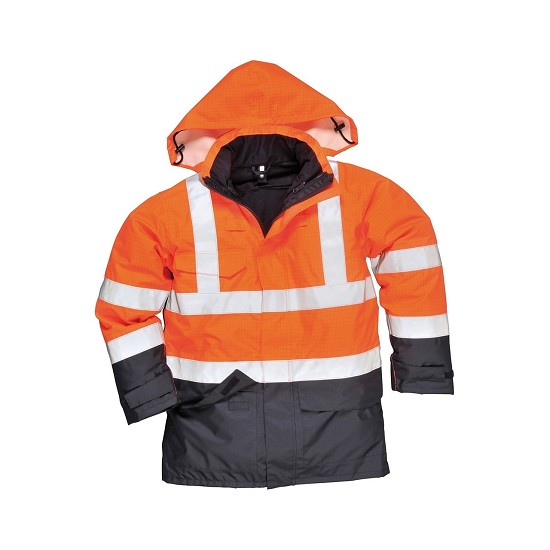 S779 - RAIN JACKET BIZFLAME MULTI - HIGH-VISIBILITY STANDARDS
