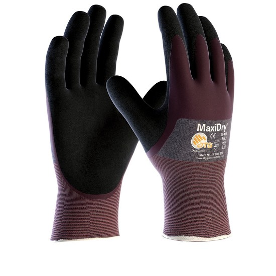 GLOVES MAXIDRY 56-425 OLEOREPELLENTE