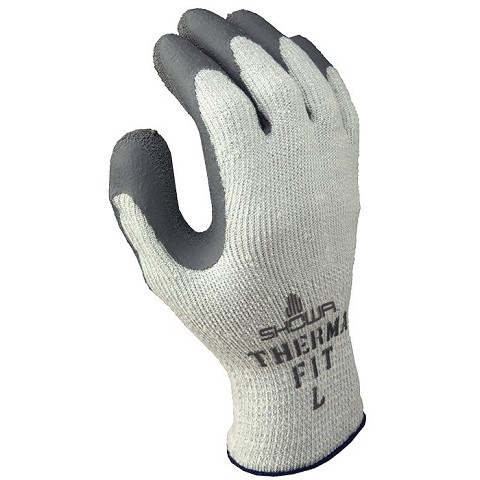 COATED LATEX GLOVES SHOWA THERMO 451