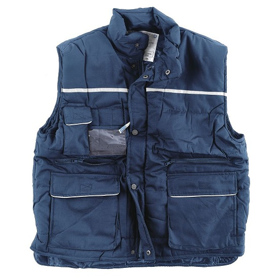 Vest padded cotton polyester multi poket Antares Edi