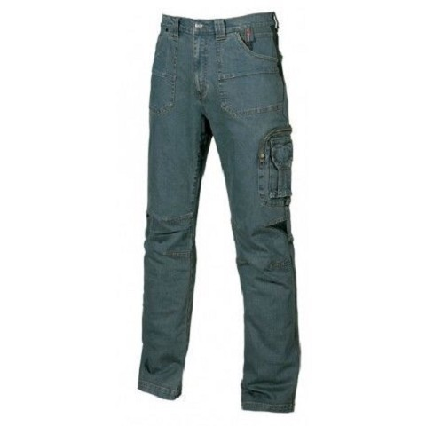 Pantalone in tessuto jeans stretch upower TRAFFIC