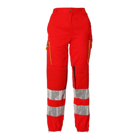 HIGH VISIBILITY TROUSERS EN20471 RESCUER TD09