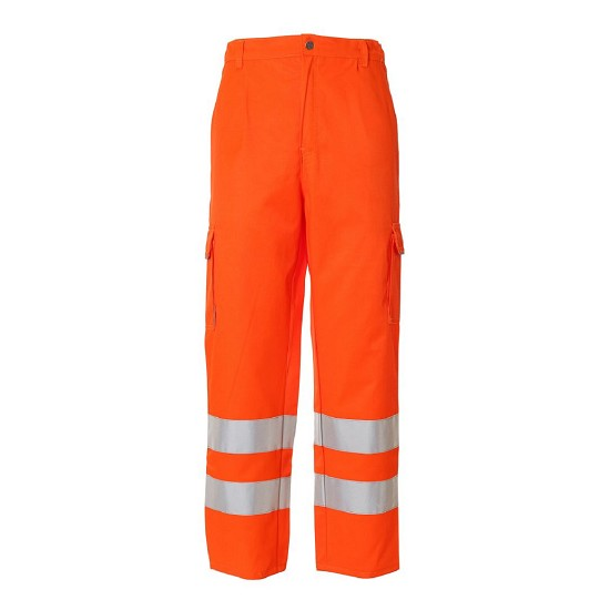 HIGH VISIBILITY TROUSERS TEKNO1 ISO EN20471 PA05