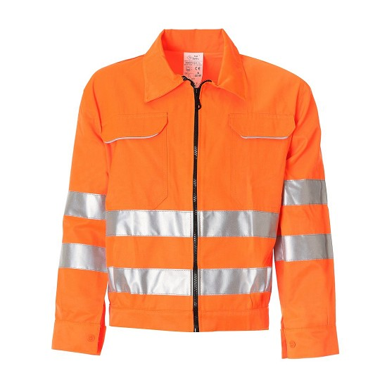 High visibility jacket Tekno1 ISO EN 20471 GB04