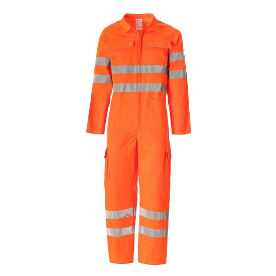 High visibility overall ISO EN20471 TU01