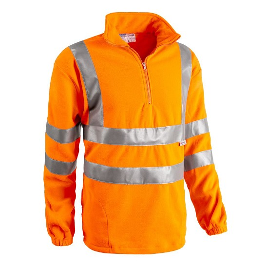 HIGH VISIBILITY SWEATSHIRT IN FLEECE EN20471 2320