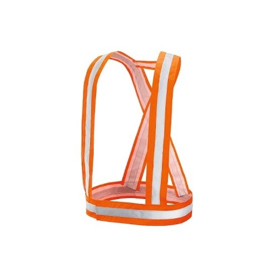 High visibility belts made with polyester/polyurethane EN 1150