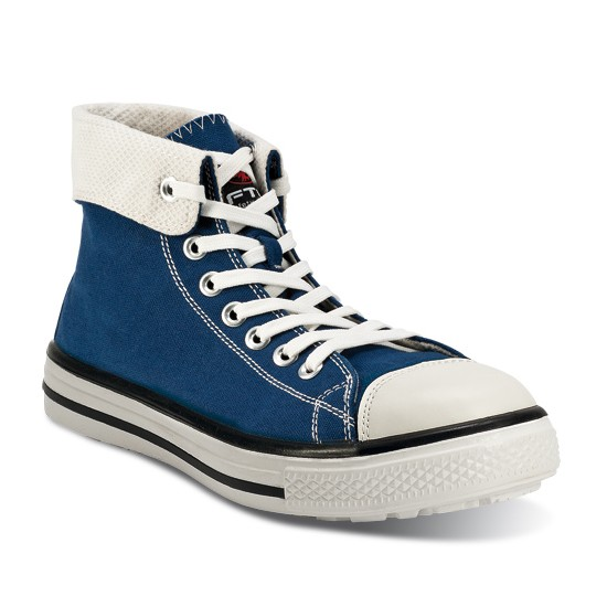 SCARPE ANTINF. ALTE TELA S1P MUSIC HI BLUES
